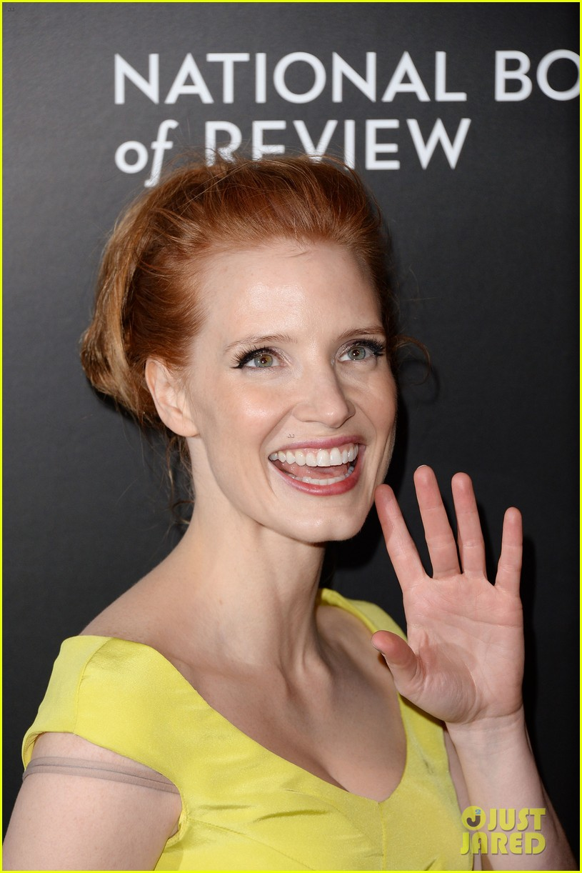 jessica chastain national board of review awards gala 2014 08