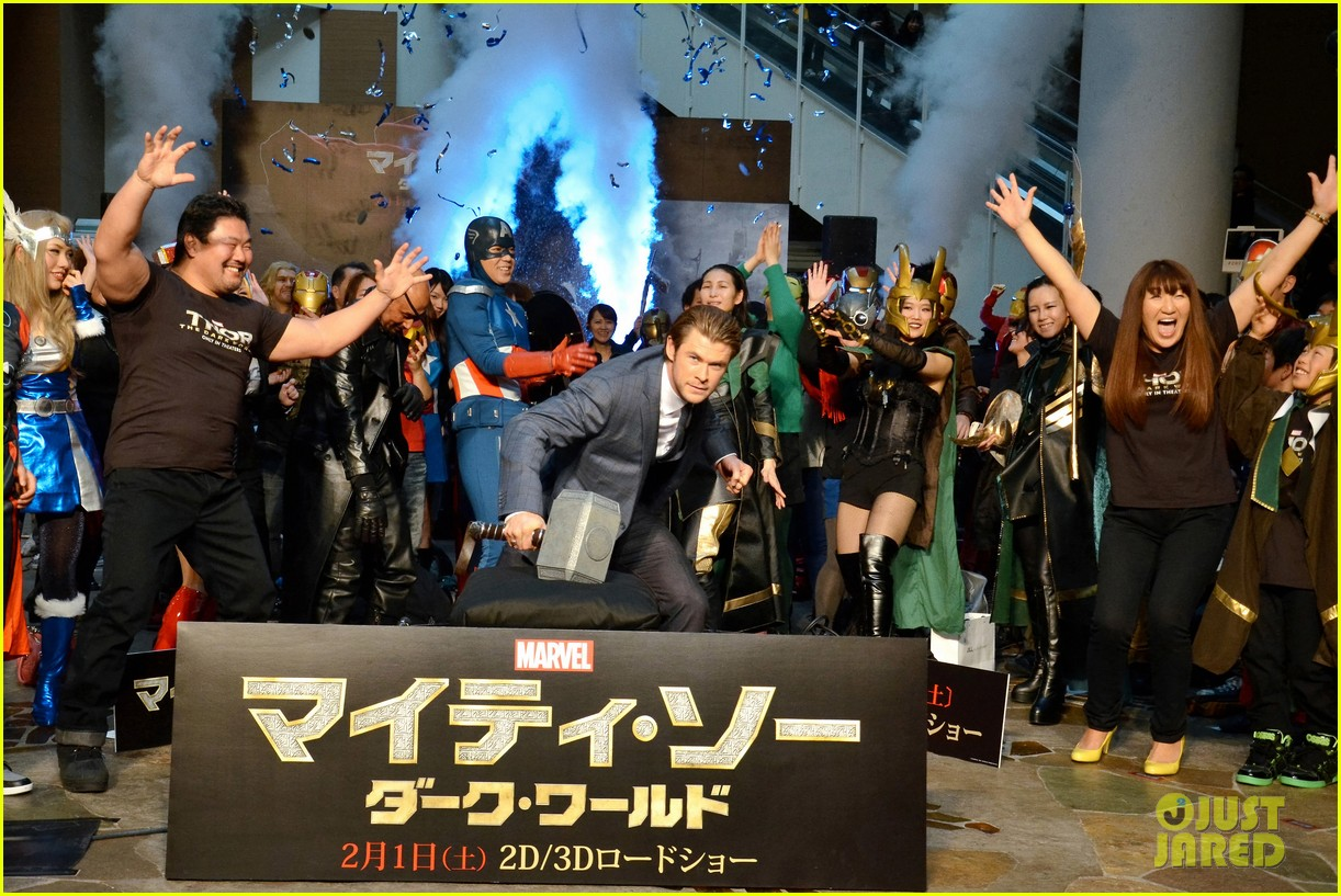 chris hemsworth thor the dark world tokyo premiere 023040567