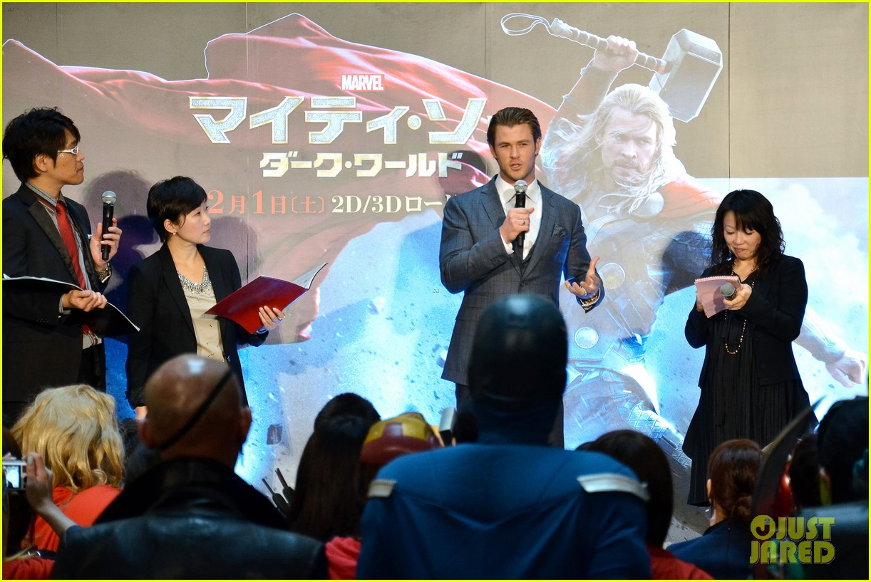 chris hemsworth thor the dark world tokyo premiere 043040569