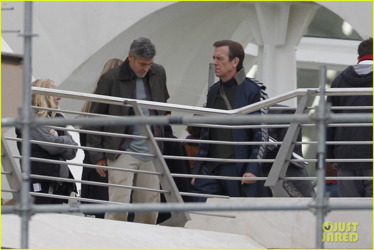 george clooney begins filming tomorrowland in spain 09