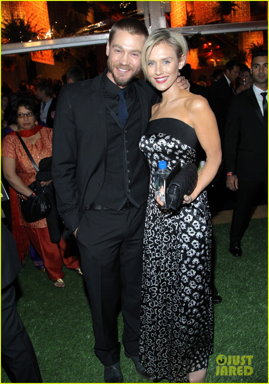 chad michael murray nicky whelan golden globes 2014 013030096