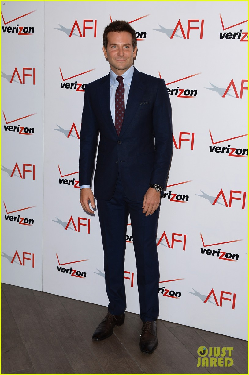 bradley cooper amy adams afi awards luncheon 2014 05