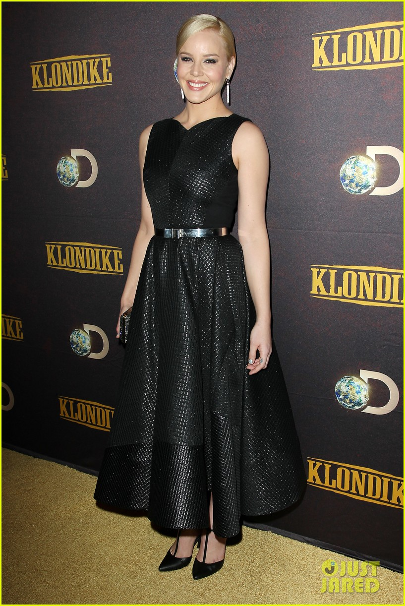 abbie cornish richard madden klondike new york premiere 013033195