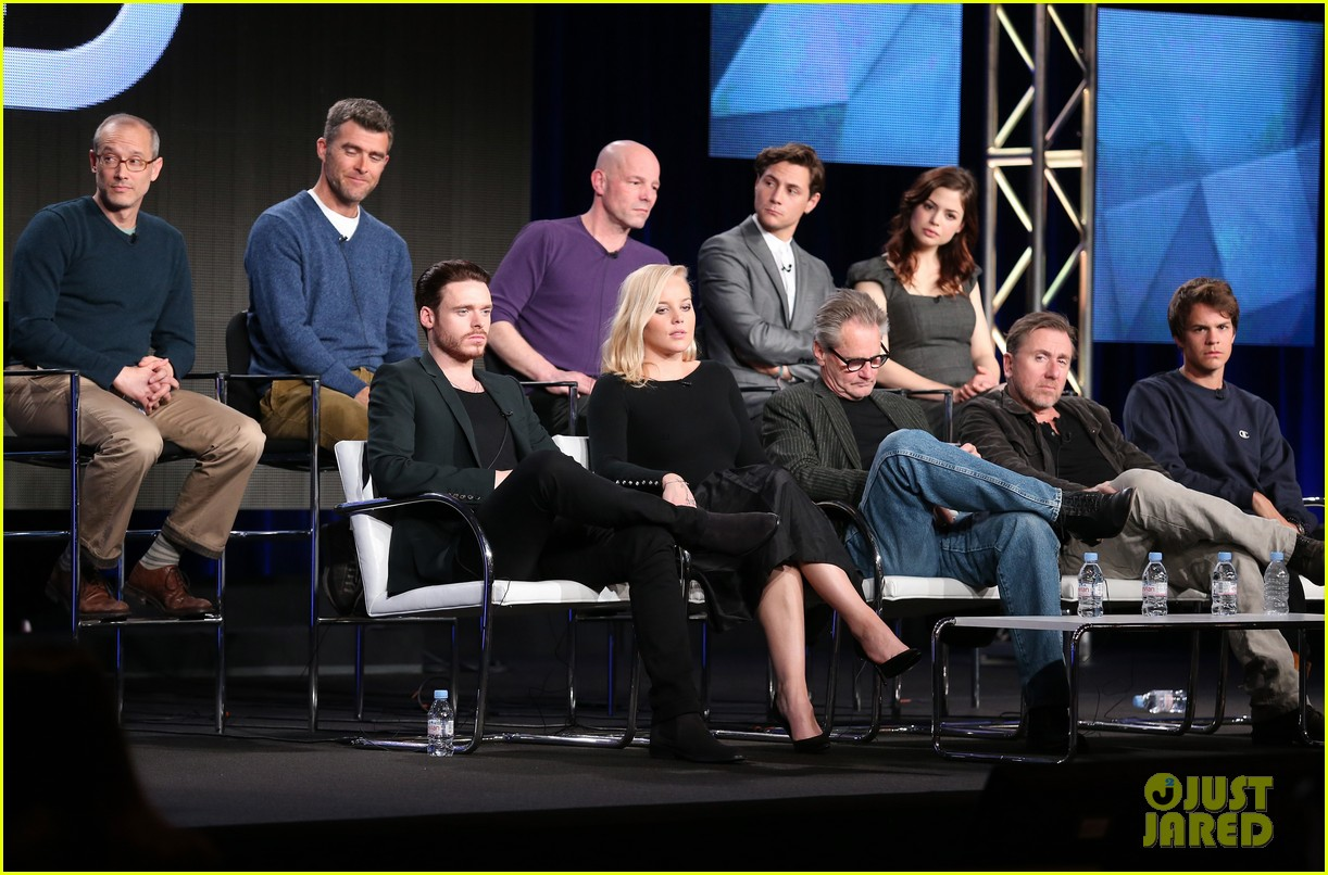 abbie cornish richard madden klondike tca panel 15