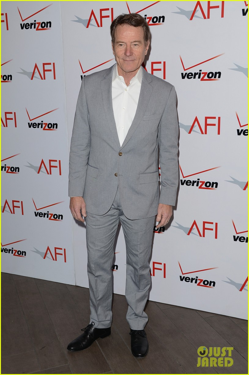 aaron paul bryan cranston afi awards luncheon 2014 08