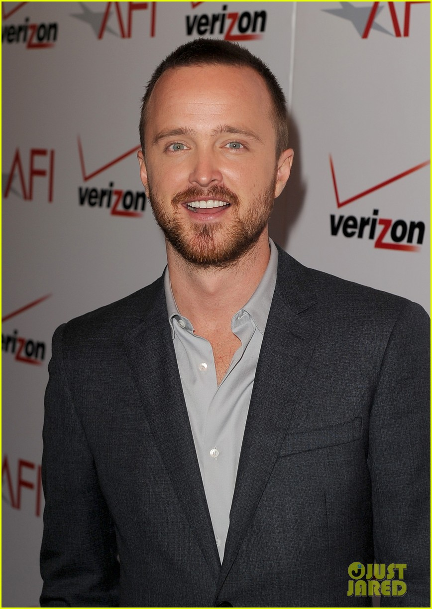 aaron paul bryan cranston afi awards luncheon 2014 10