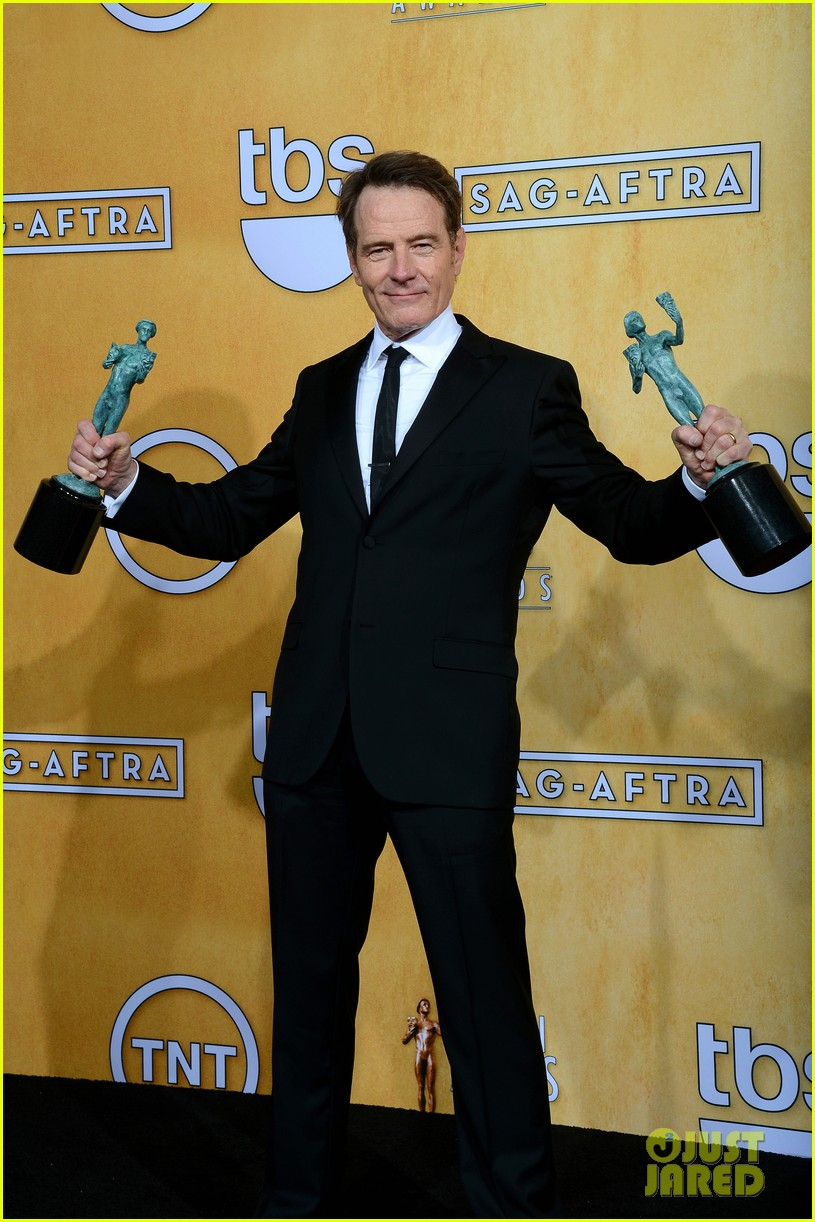 aaron paul bryan cranston sag awards 2014 05