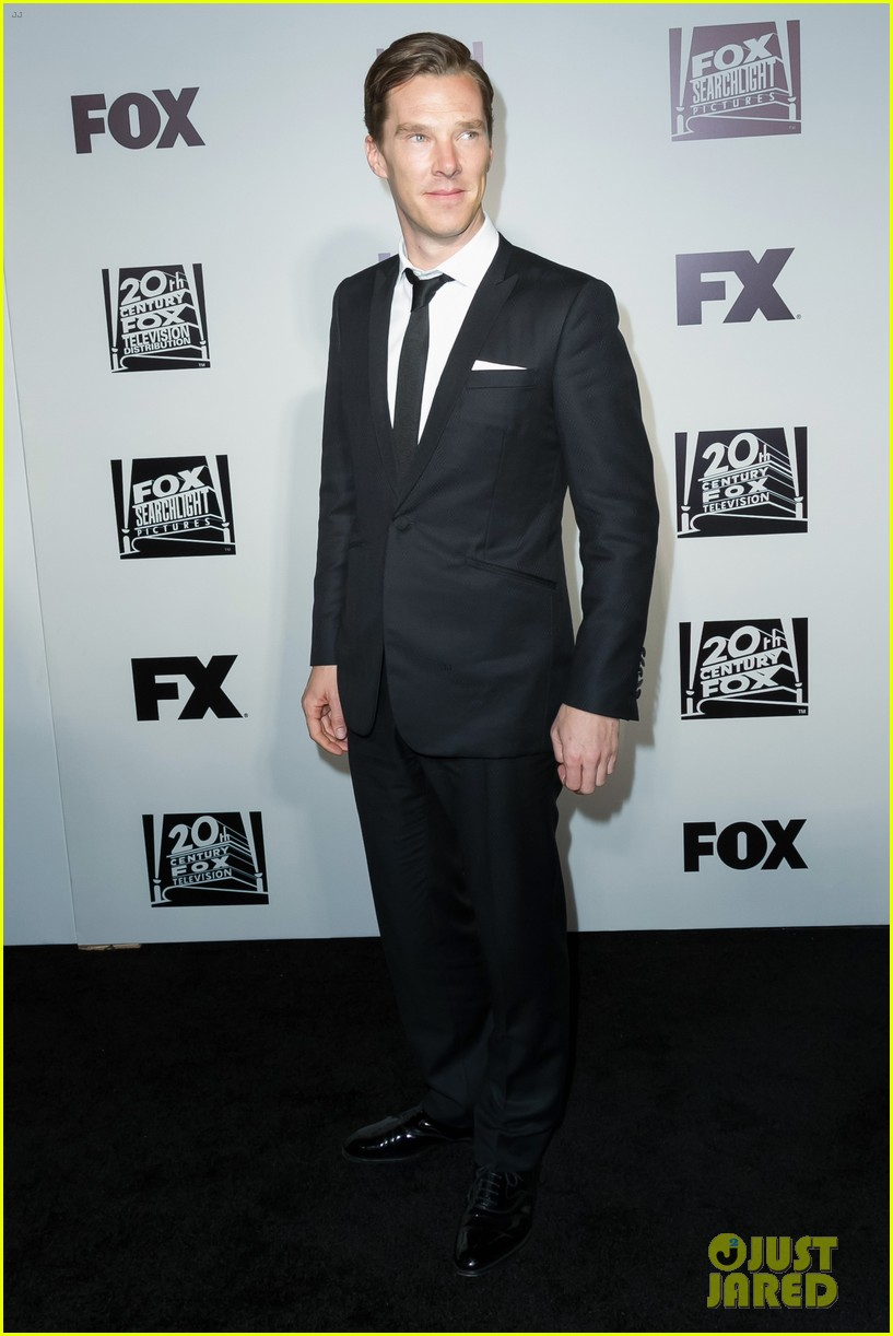 benedict cumberbatch fox golden globes party 2014 023030225