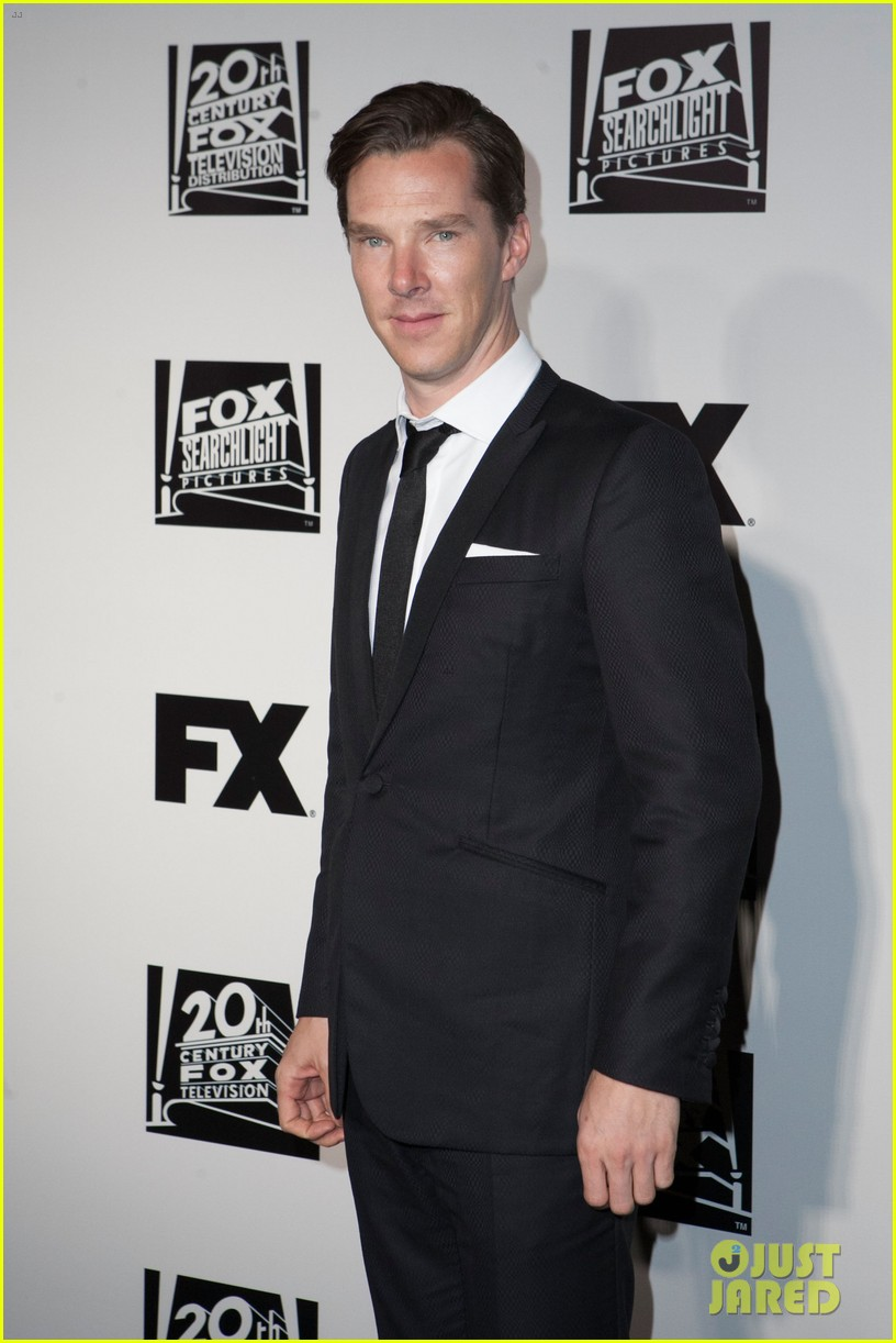 benedict cumberbatch fox golden globes party 2014 083030231