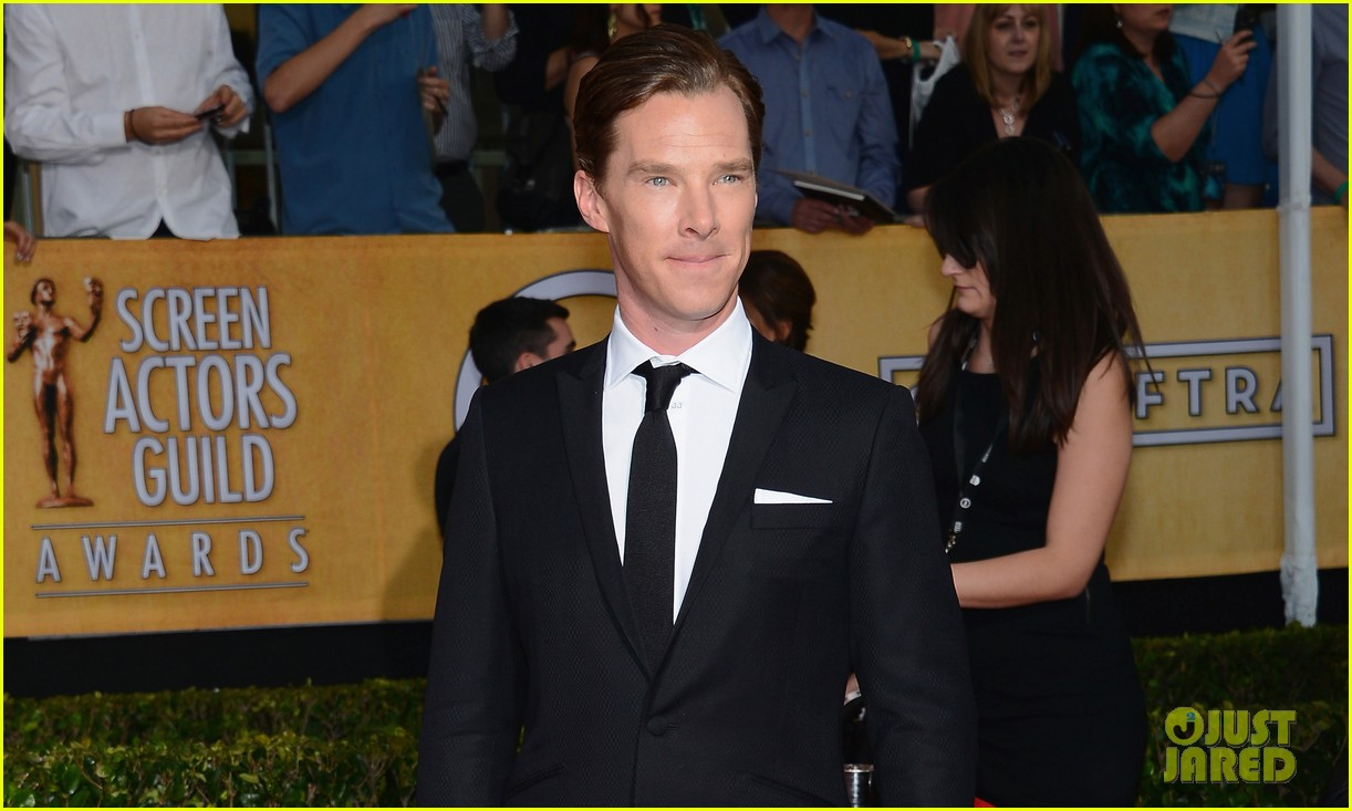 benedict cumberbatch sag awards 2014 red carpet 02