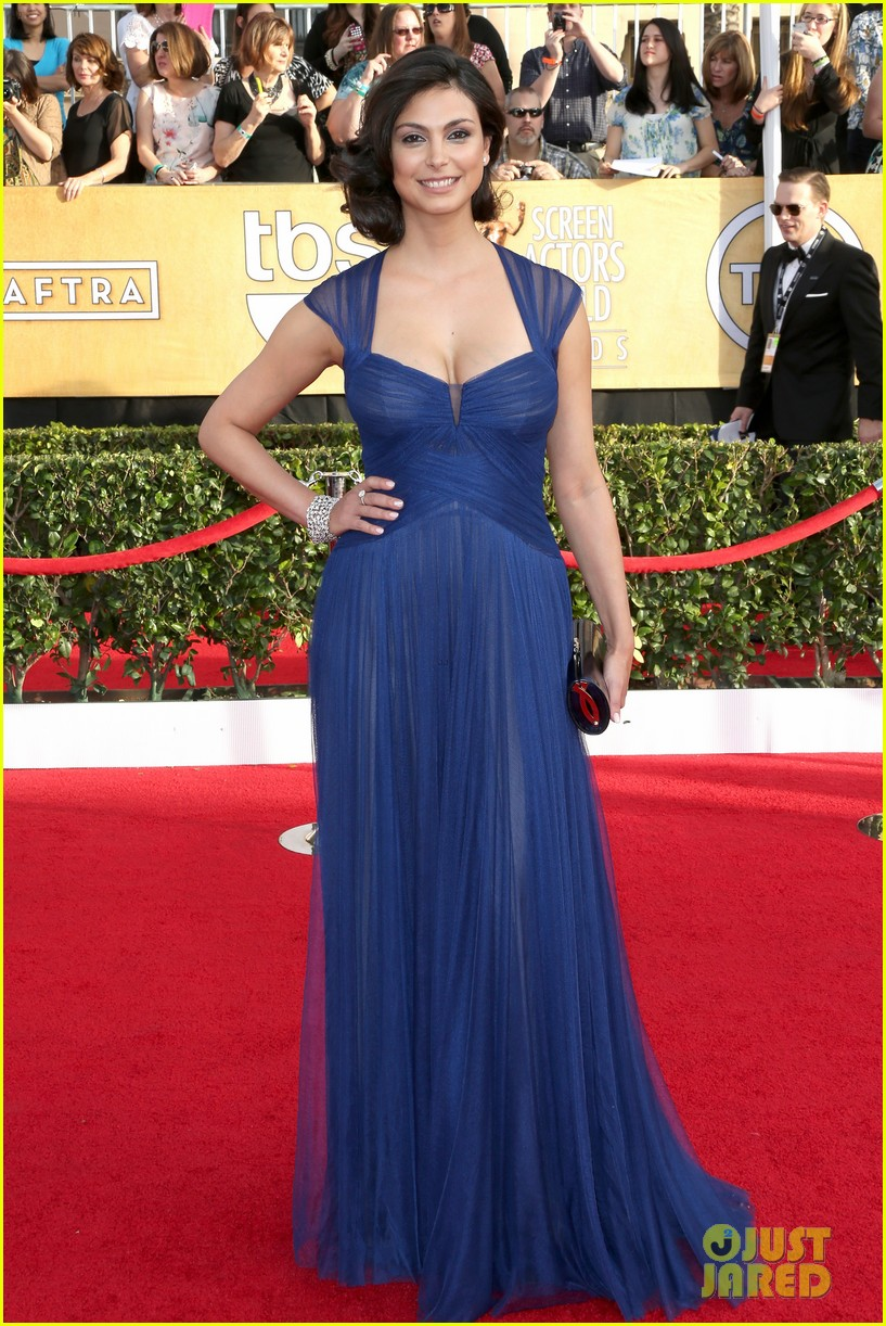 damien lewis morena baccarin sag awards 2014 red carpet 013034762