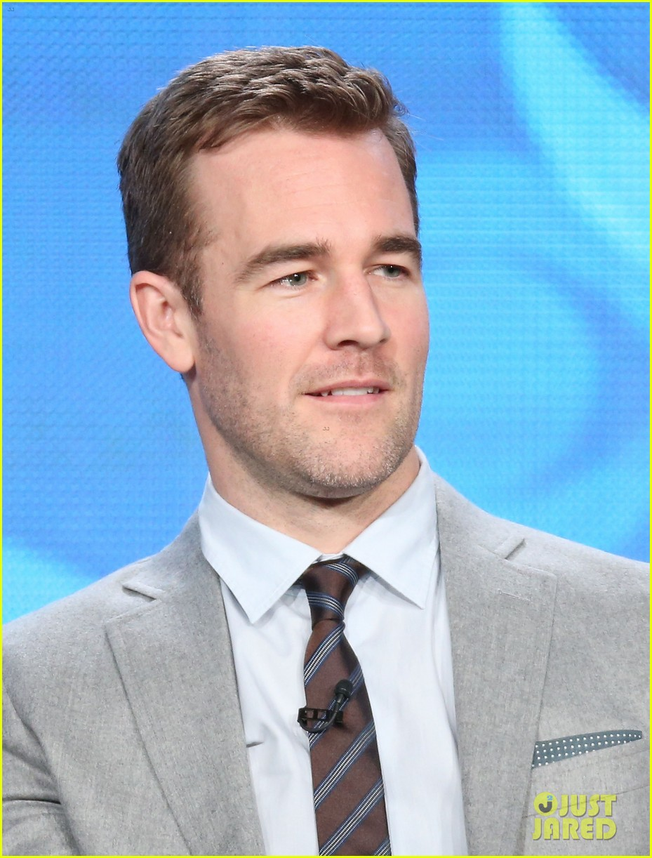brooklyn decker james van der beek cbs tca panel 2014 02