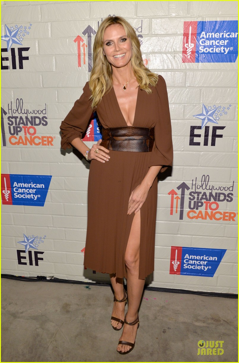 zooey deschanel heidi klum stand up to cancer 17