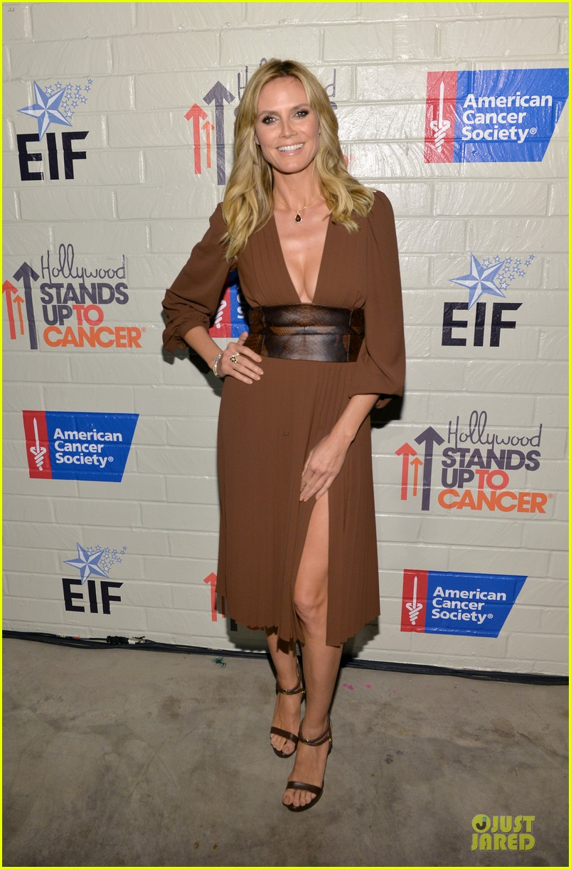 zooey deschanel heidi klum stand up to cancer 18