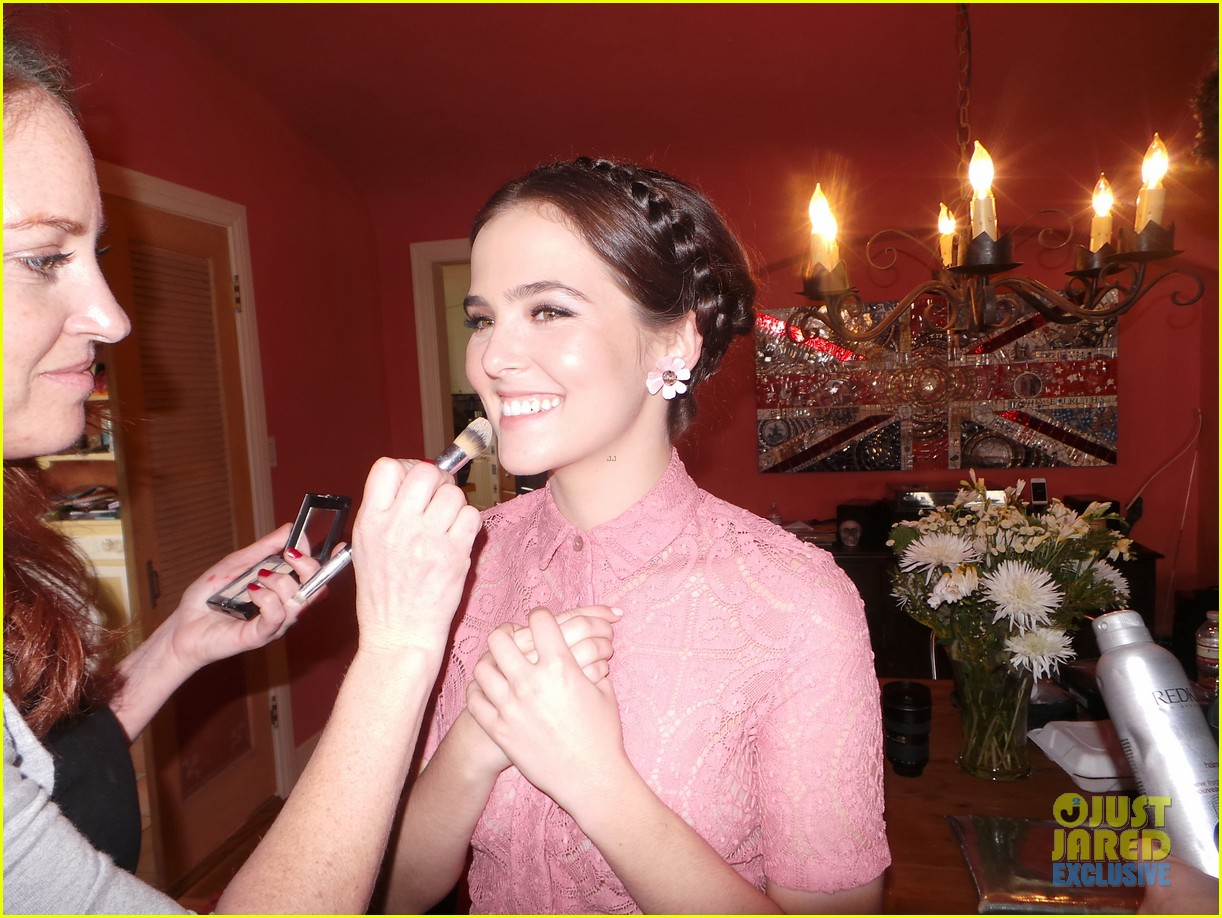 zoey deutch jj spotlight of the week behind the scenes pics 033037111