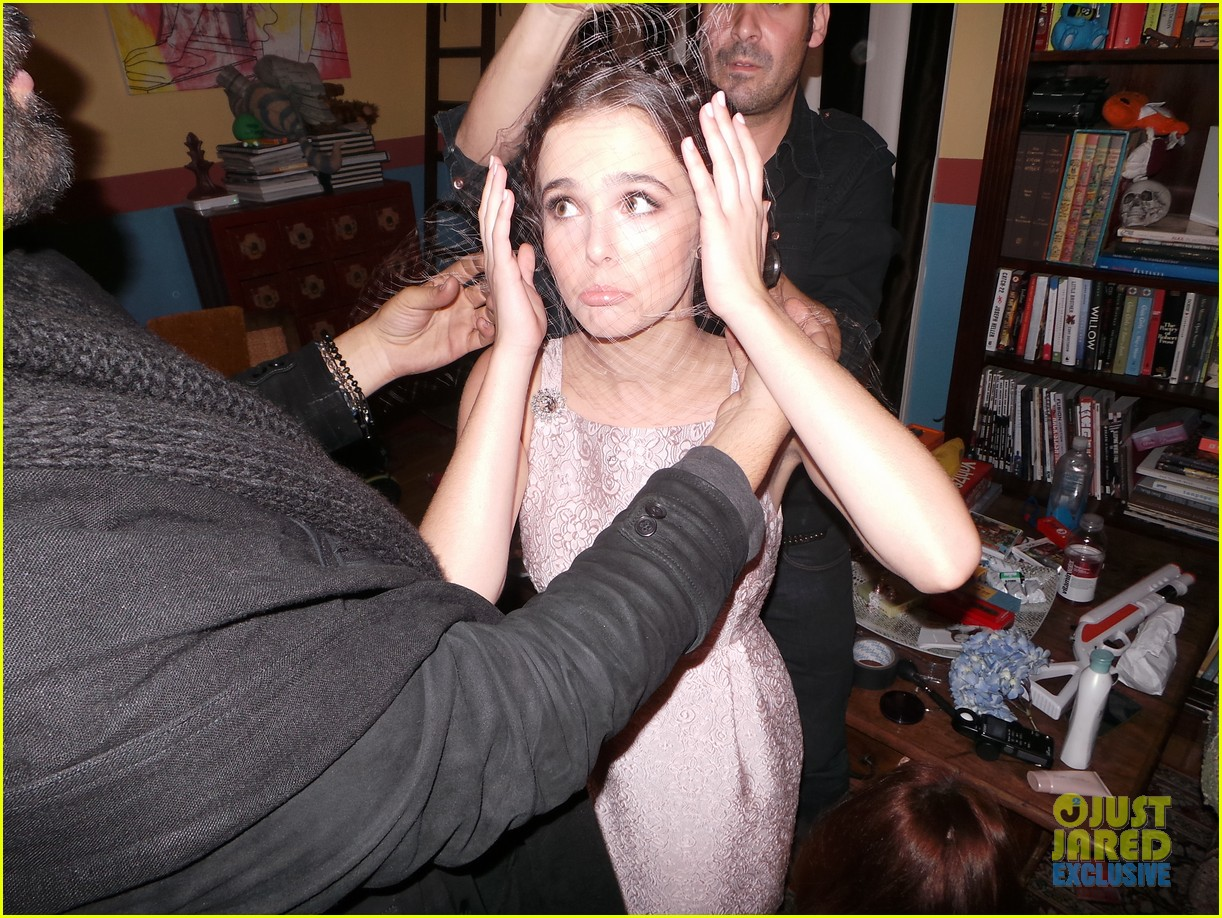 zoey deutch jj spotlight of the week behind the scenes pics 14
