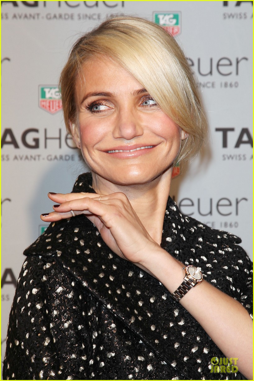 cameron diaz tag heuer ny flagship store opening 123043033