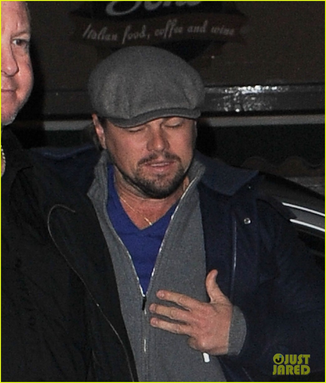 leonardo dicaprio jonah hill grab dinner together in london 08