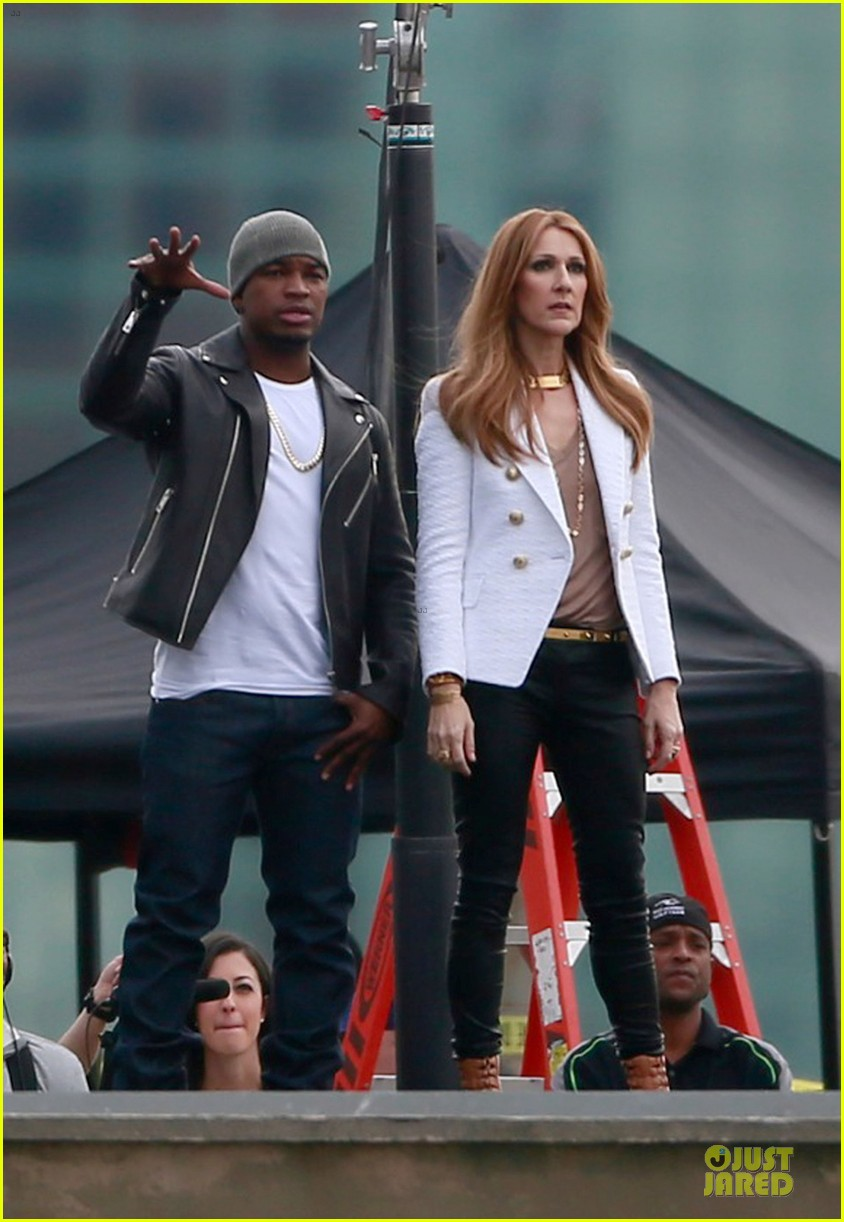 celine dion ne yo incredible music video shoot 04