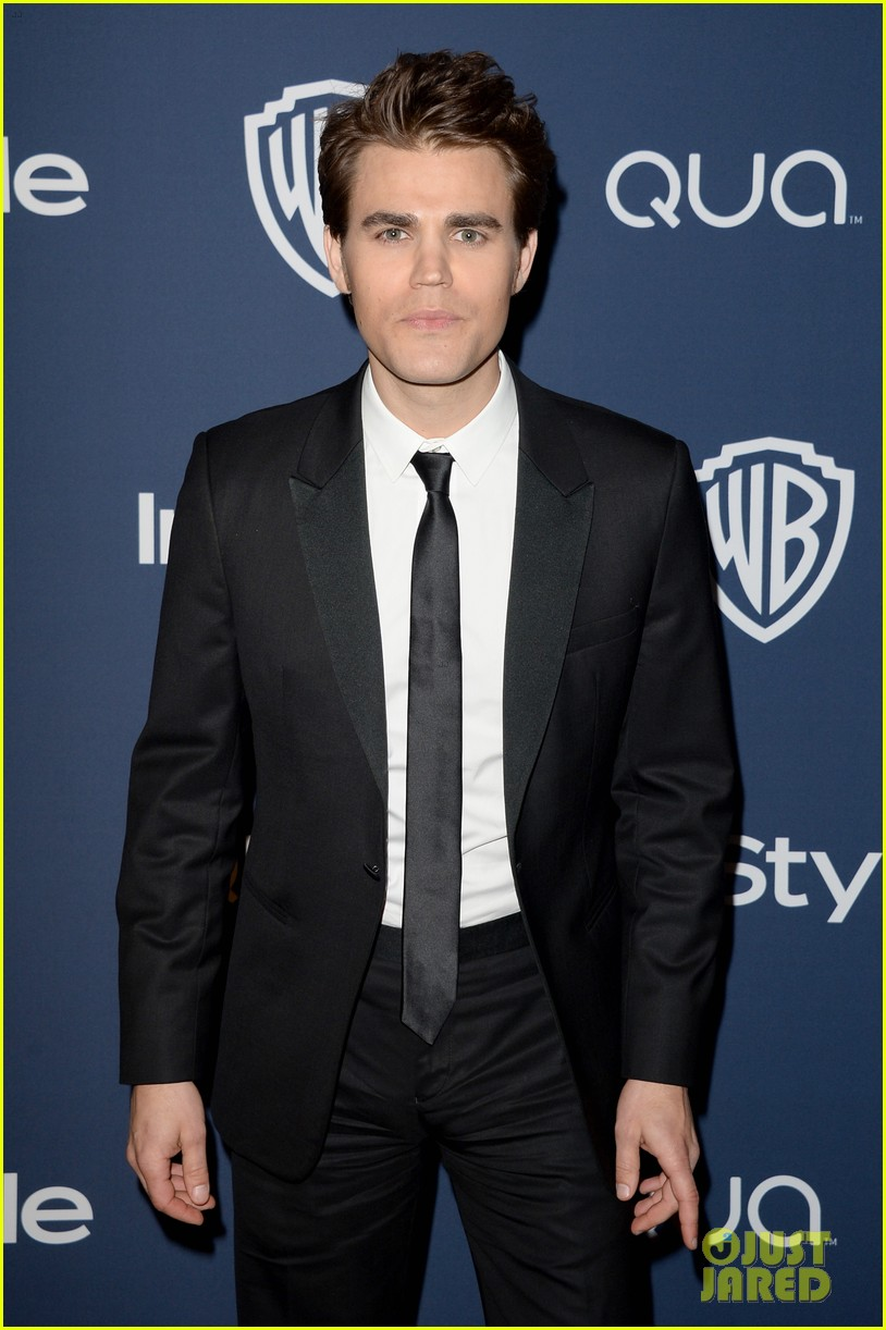 nina dobrev paul wesley instyle golden globes party 2014 06