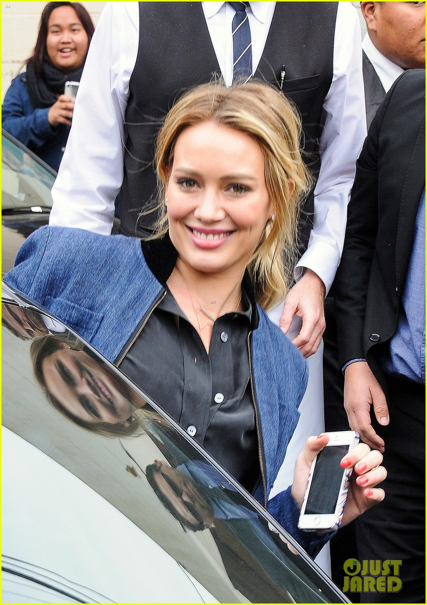 hilary duff solo cecconis lunch 09