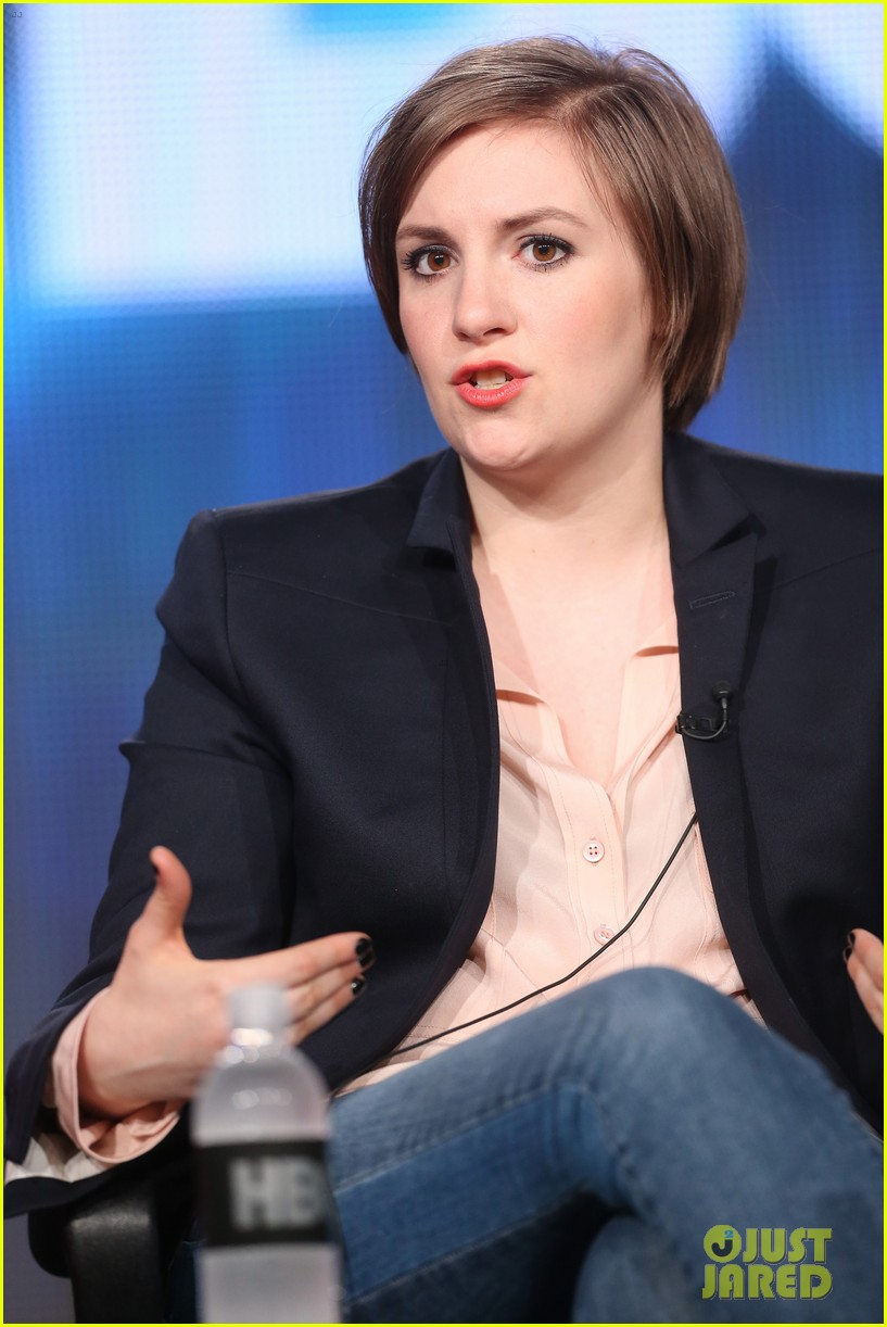 lena dunham allison williams girls tca winter tour panel 11