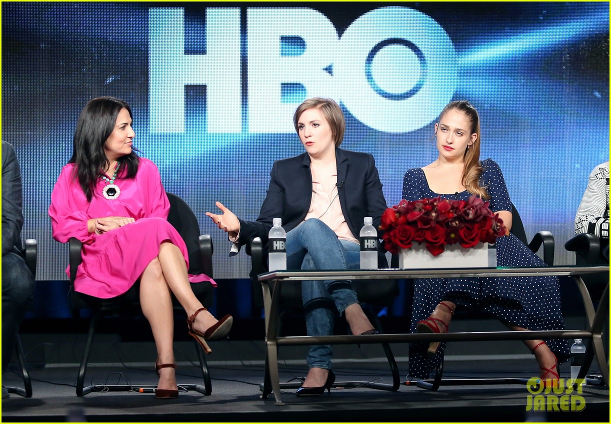 lena dunham allison williams girls tca winter tour panel 20