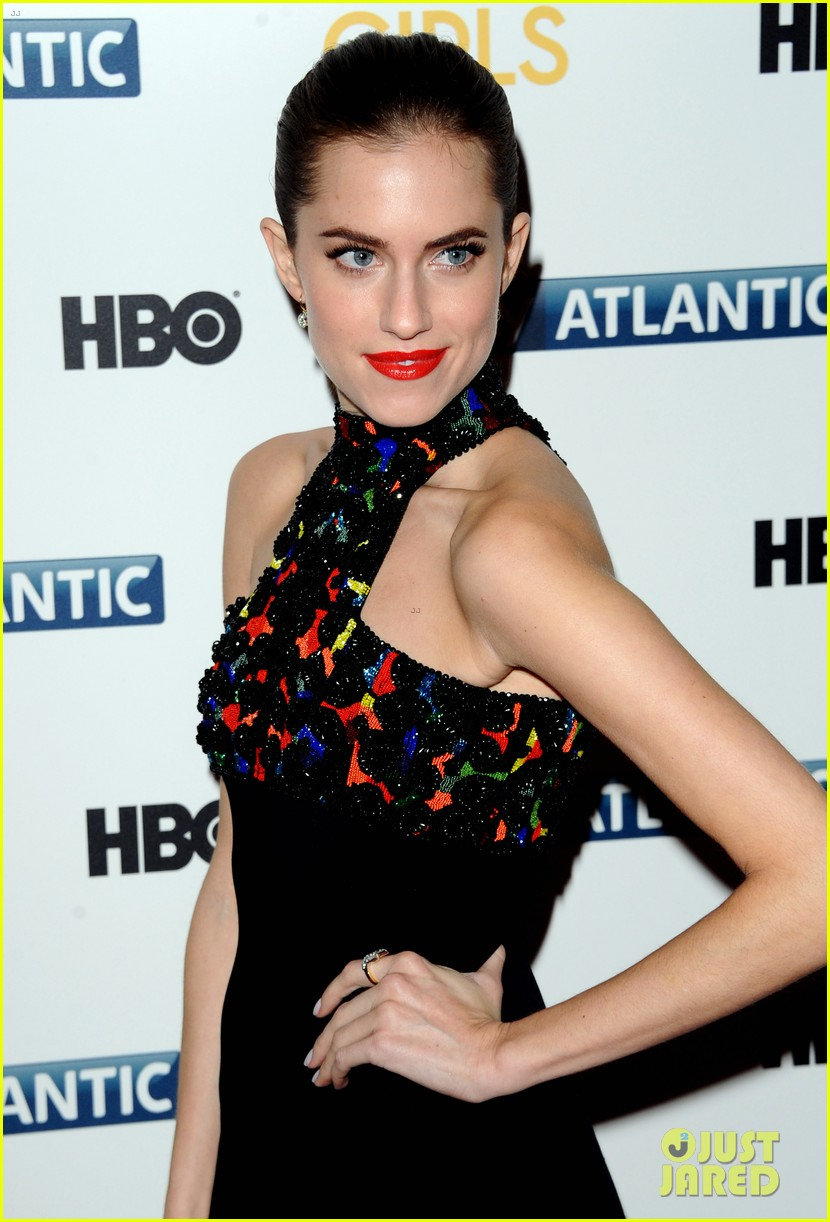 lena dunham allison williams girls season 3 uk premiere 17