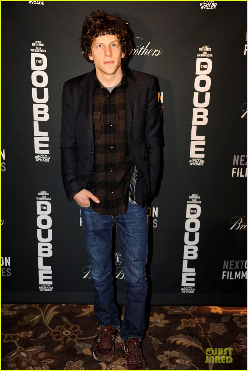 jesse eisenberg the double sundance premiere after party 01