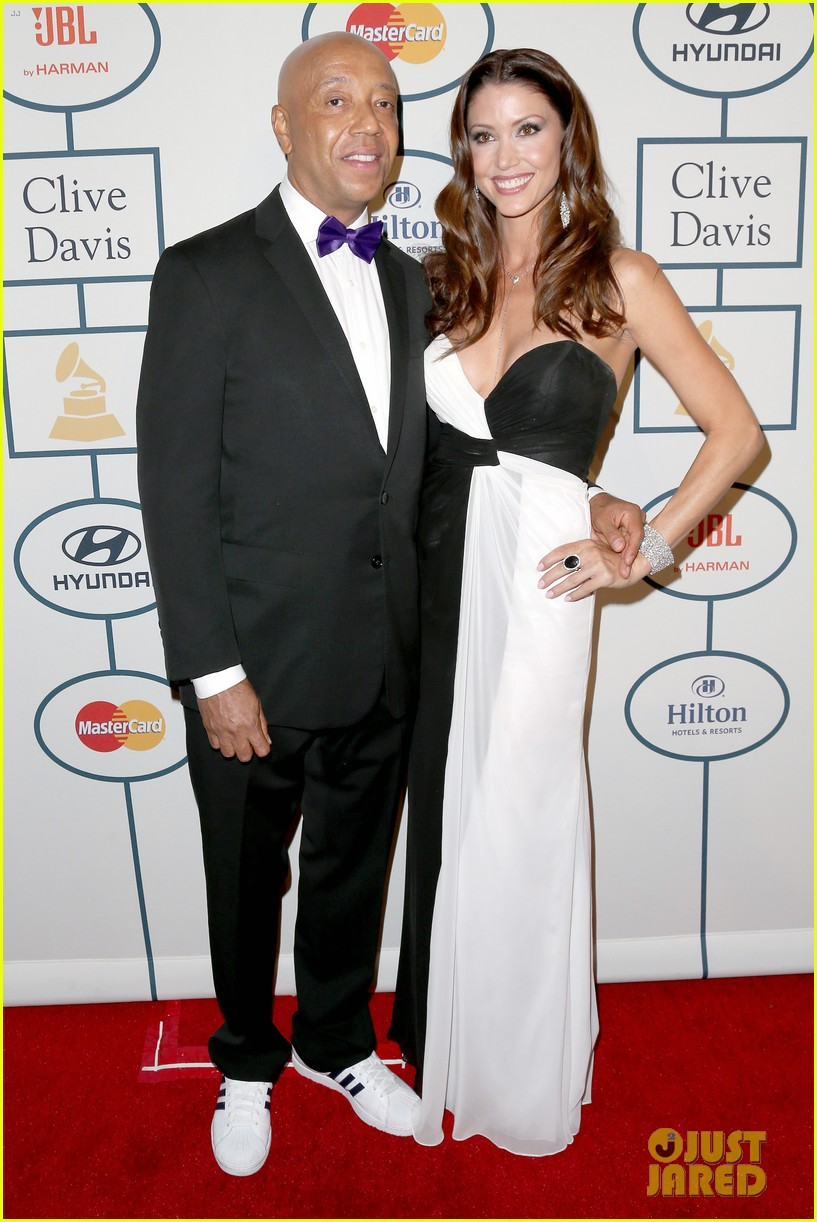 shannon elizabeth russell simmons new couple at grammys party 03