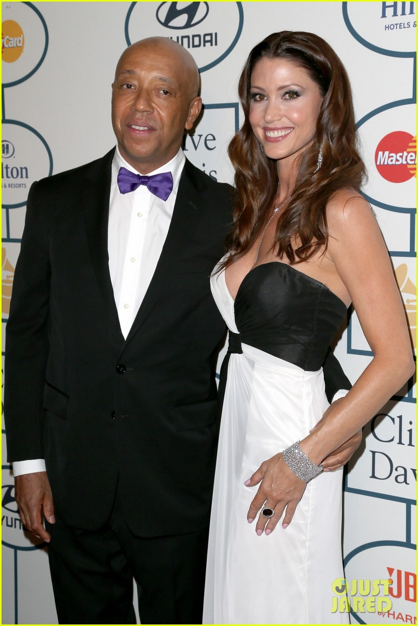 shannon elizabeth russell simmons new couple at grammys party 13
