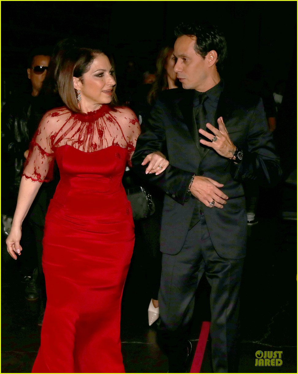 gloria estefan stevie nicks grammys 2014 red carpet 153041636