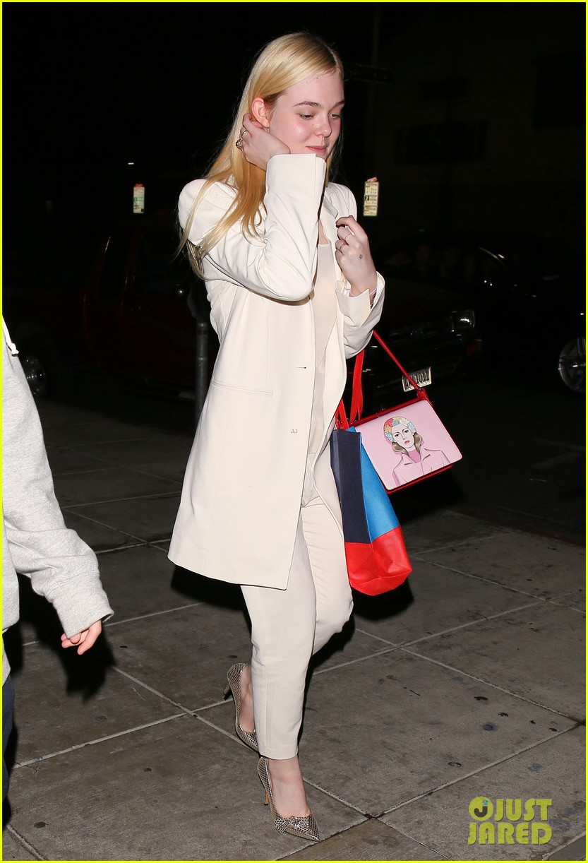 elle fanning matsuhisa dinner date with male friend 103042214
