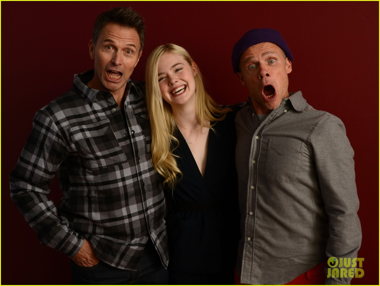 elle fanning aaron paul meet up at varietys sundance studio 273036640