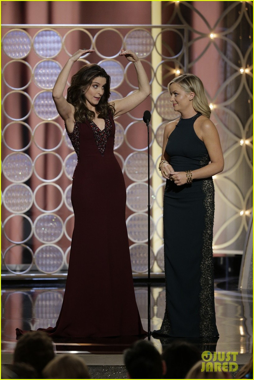 tina fey amy poehler golden globes opening monologue video watch now 05