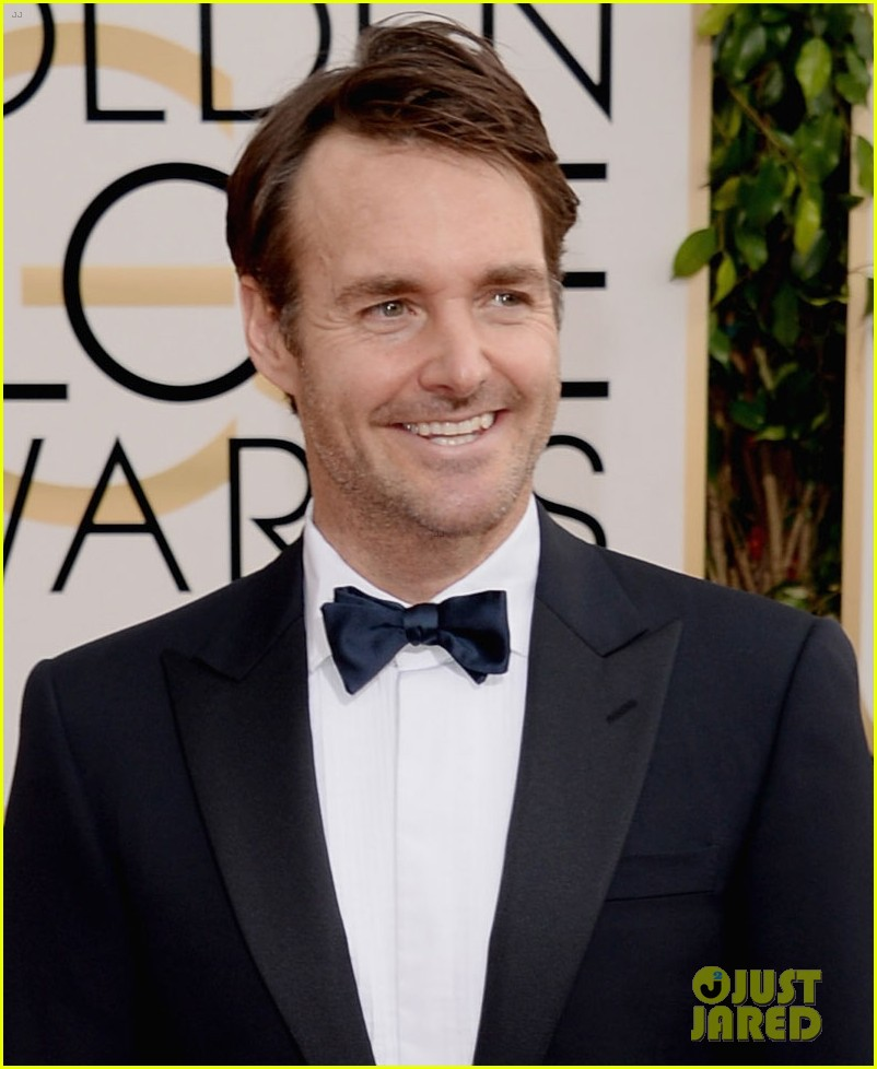 will forte golden globes 2014 red carpet 033029538