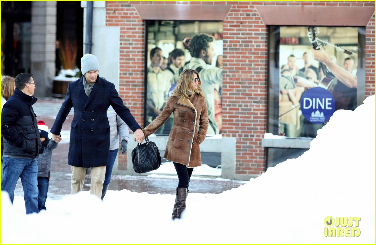 gisele bundchen tom brady boston fun with benjamin 083023037
