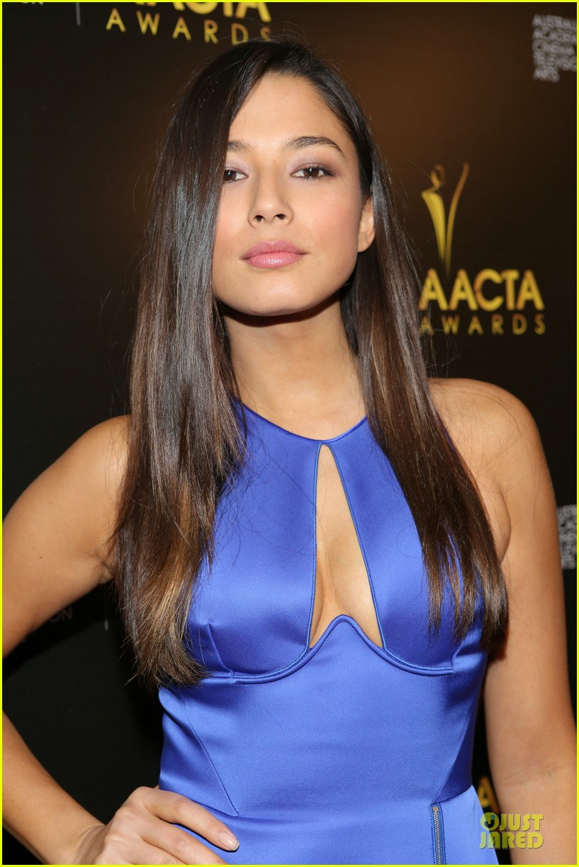 jessica gomes david o russell aacta awards 2014 13