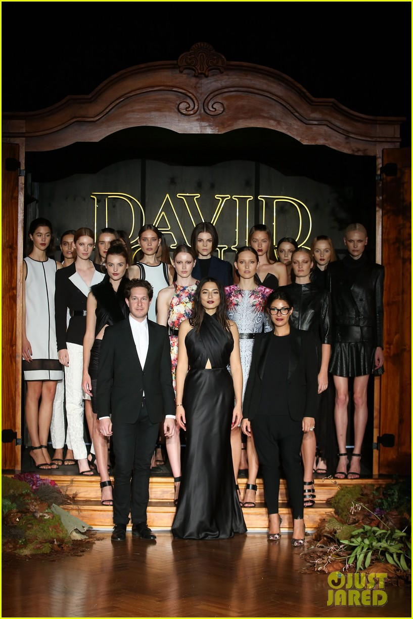 jessica gomes hits the runway for david jones collection launch 15