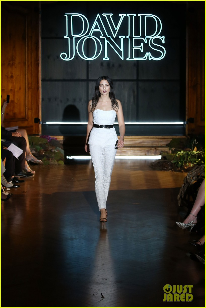 jessica gomes hits the runway for david jones collection launch 20
