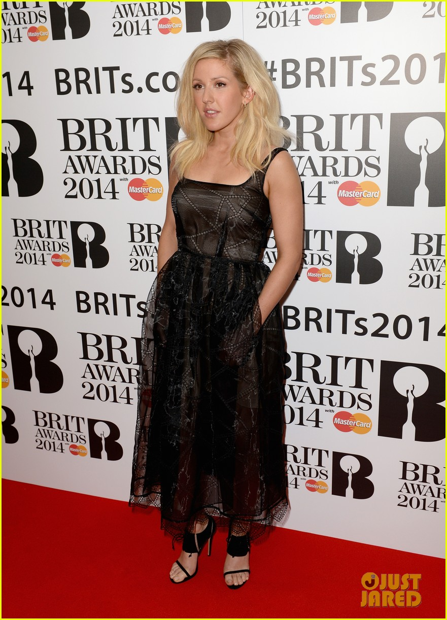 ellie goulding brit awards nominations ceremony 01
