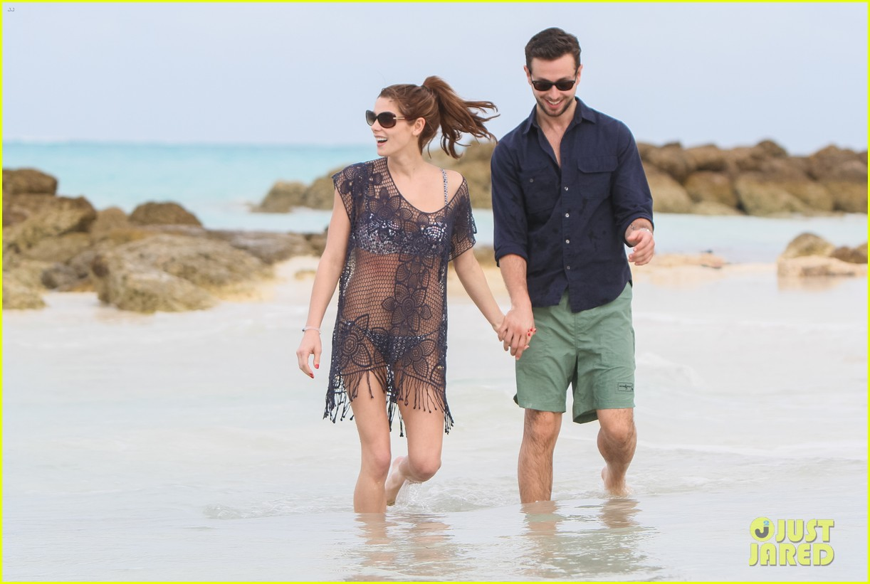 ashley greene bahamas bikini babe with paul khoury 043025453