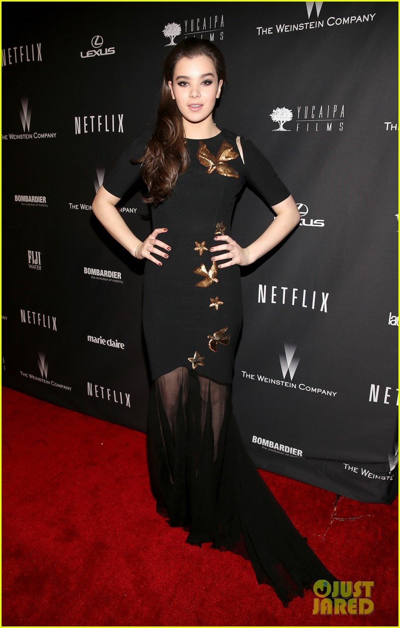 hailee steinfeld weinsteins golden globes 2014 after party 02