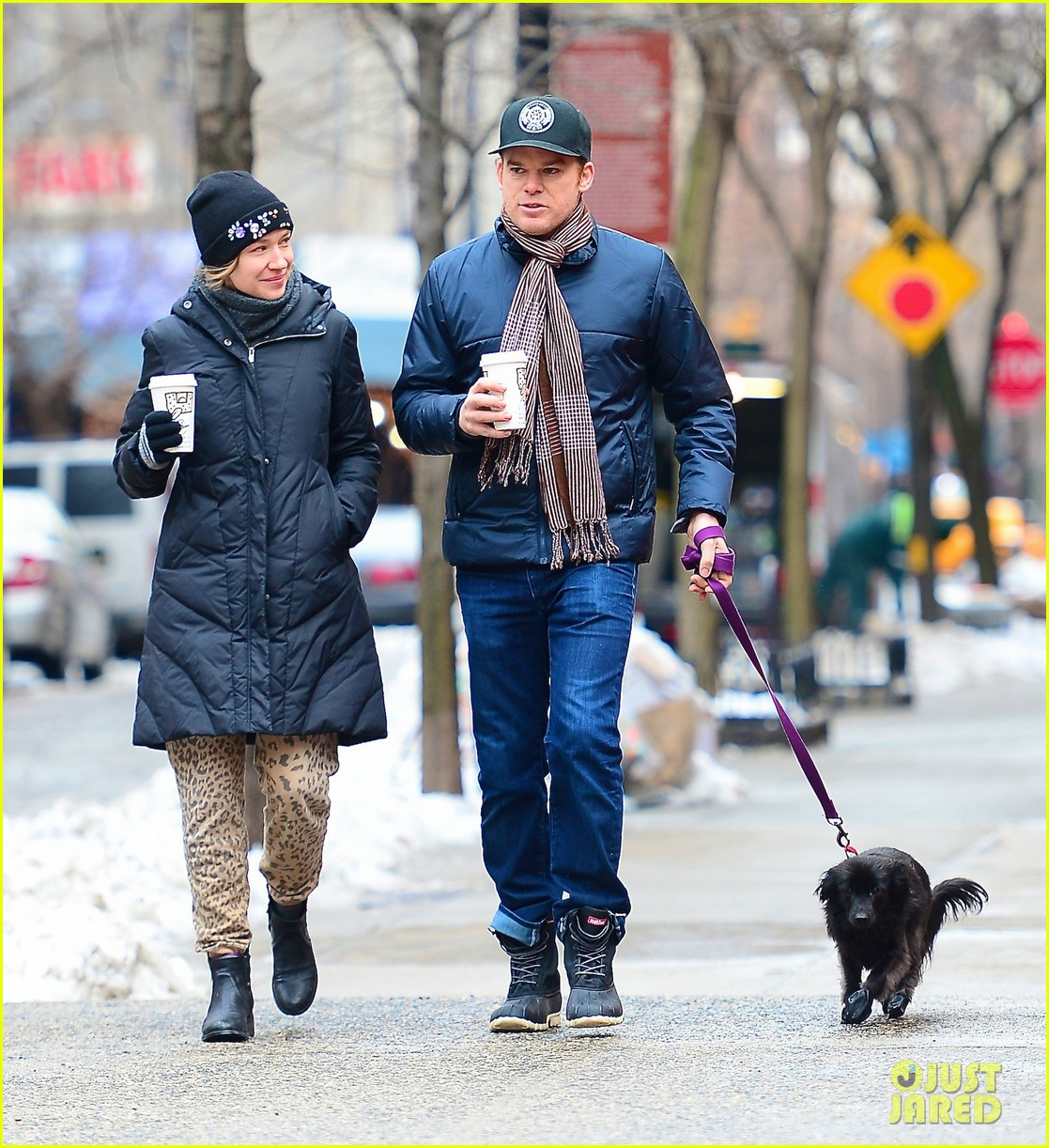 michael c hall morgan mcgregor chilly dog walk 01