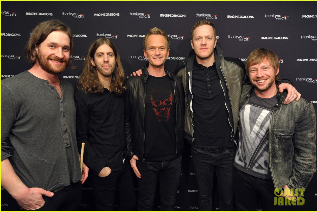 neil patrick harris alexander ludwig imagine dragons concert 053039213