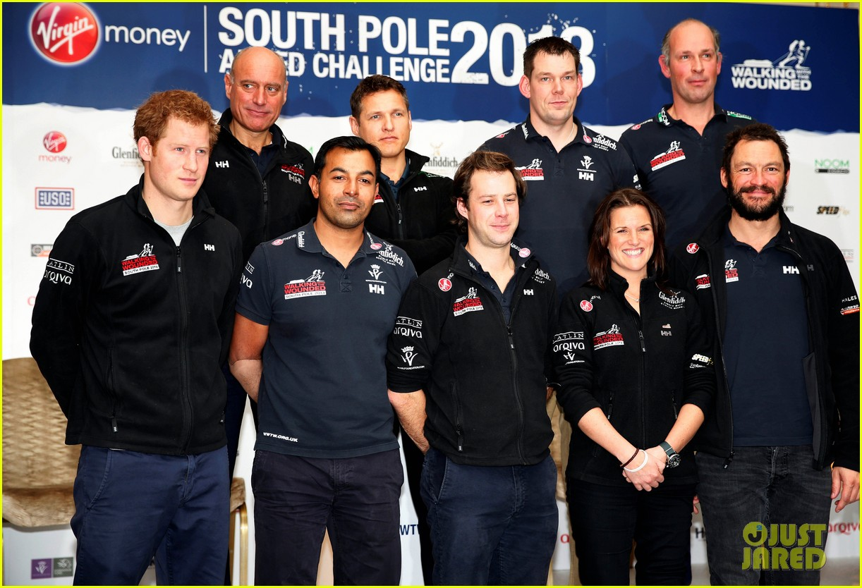 prince harry debuts freshly shaved face at south pole press conference 14
