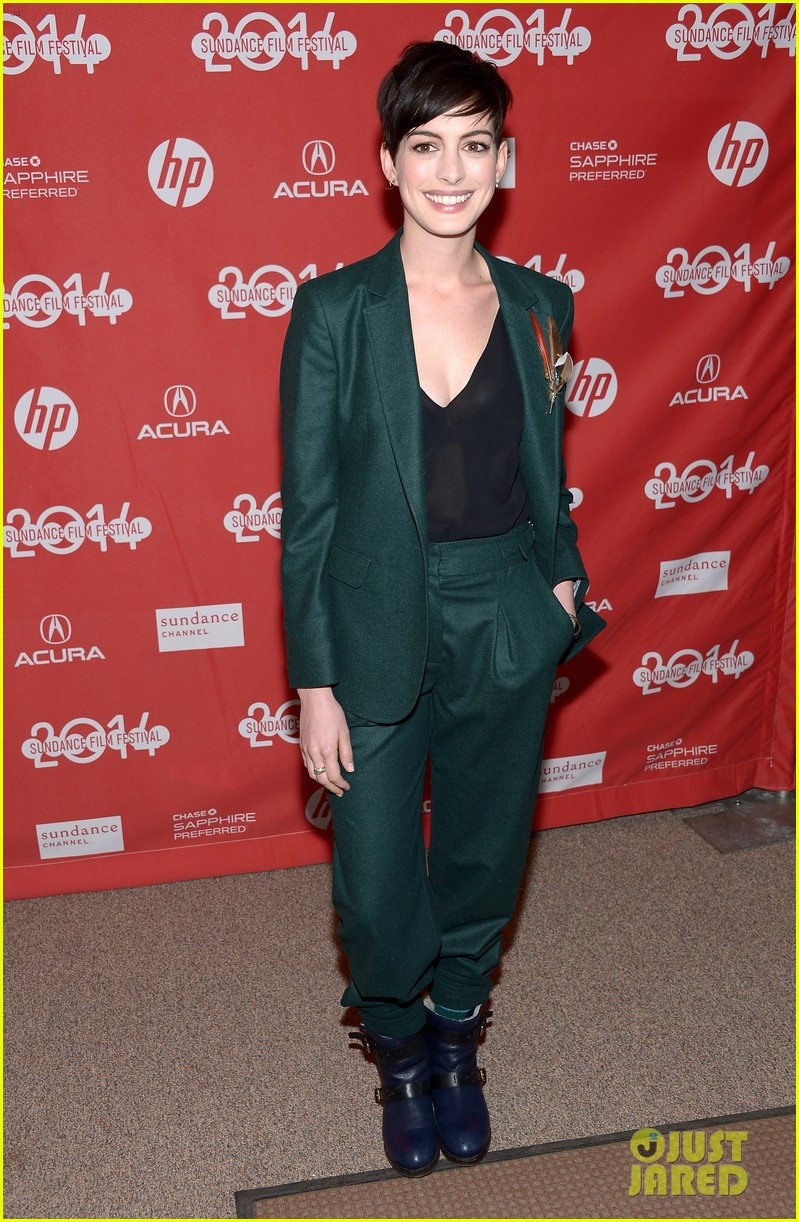 anne hathaway song one sundance premiere 013036539