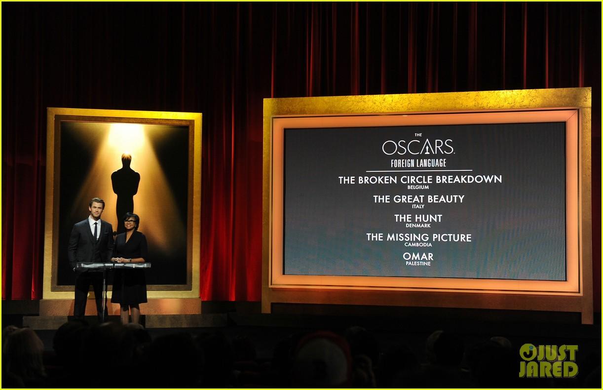 chris hemsworth announces oscar nominations 2014 103032539