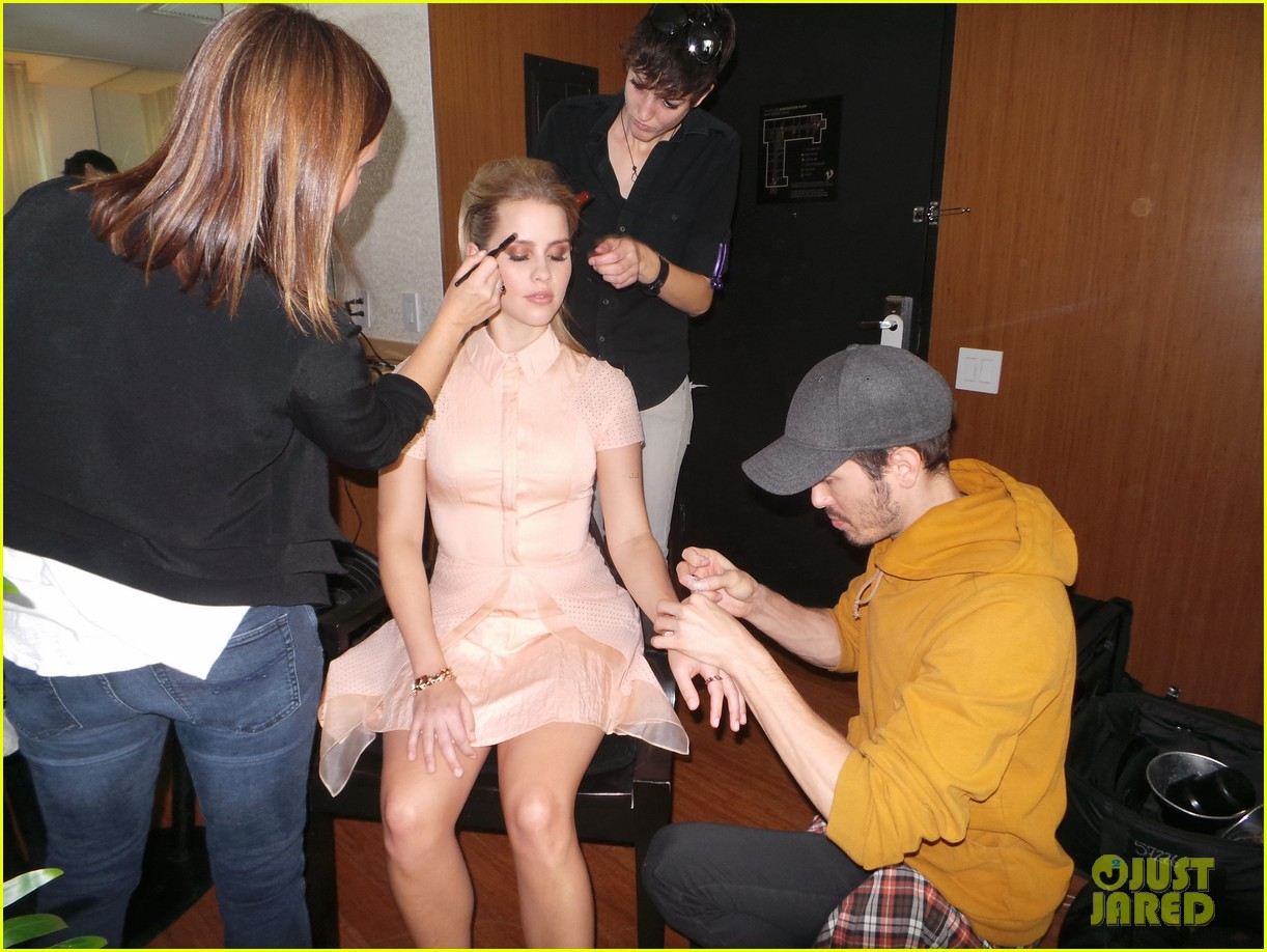 claire holt jj spotlight behind the scenes pics exclusive 063031098