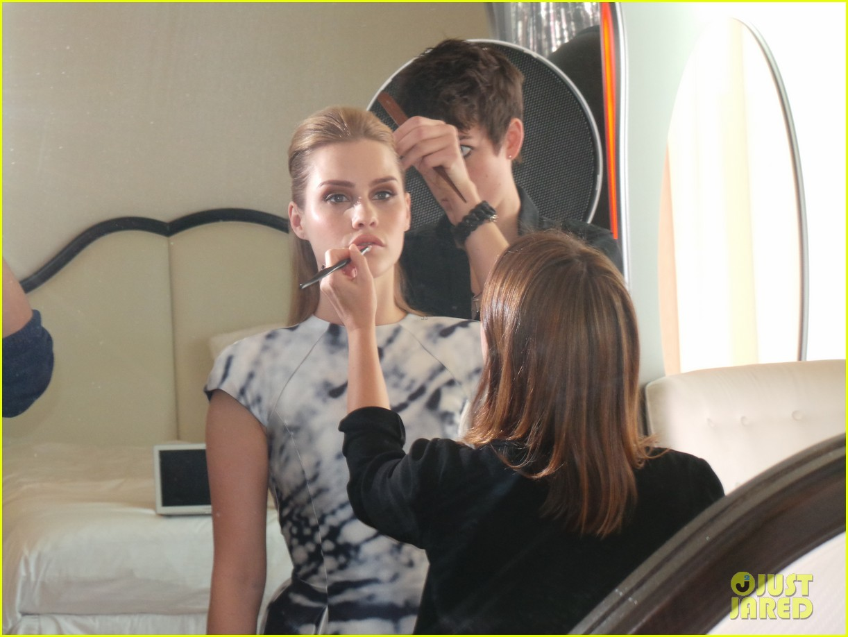 claire holt jj spotlight behind the scenes pics exclusive 103031102
